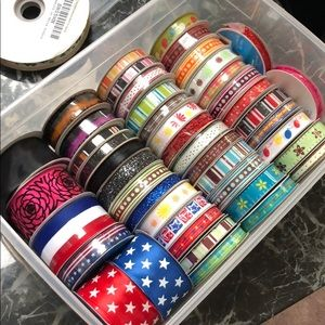 Bundle of Assorted Ribbons
